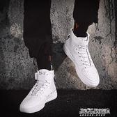 高幫鞋 空軍一號男鞋aj1高幫鞋男韓版潮流嘻哈潮鞋休閒鞋子學生板鞋   傑克型男館