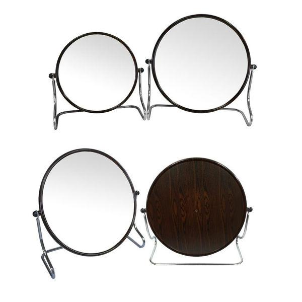 黑檀紋 大圓形立鏡 (BB-426)