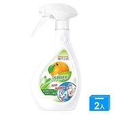 橘子工坊天然制菌活力浴廁清潔劑480ml【兩入組】【愛買】