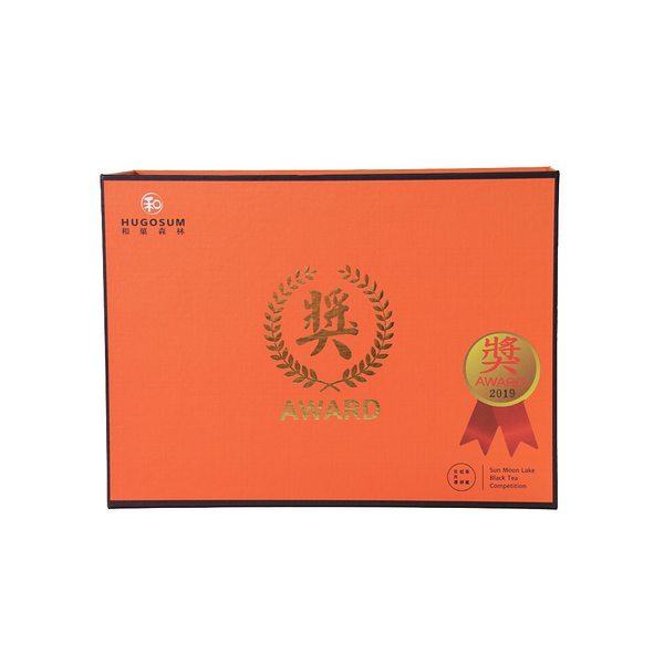 【HUGOSUM】日月潭紅茶 2019年-優質獎 - 紅寶石75g*2罐