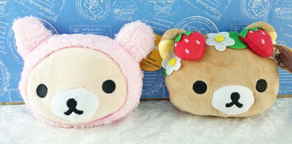 【震撼精品百貨】Rilakkuma San-X 拉拉熊懶懶熊~造型票夾 哥 妹