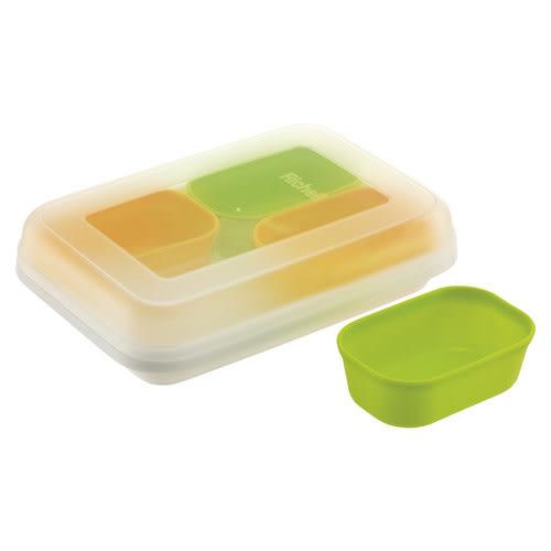 日本 Richell 離乳食分裝盒50ml (4入/盒)【佳兒園婦幼館】