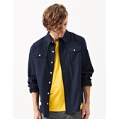 CACO-壓格紋襯衫(二色)-男【WNA053】