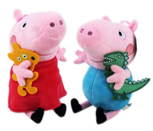 【卡漫城】 佩佩豬 玩偶 單售 ㊣版 Peppa Pig 粉紅 豬小妹 絨毛 布偶 娃娃 擺飾 裝飾品 吊飾