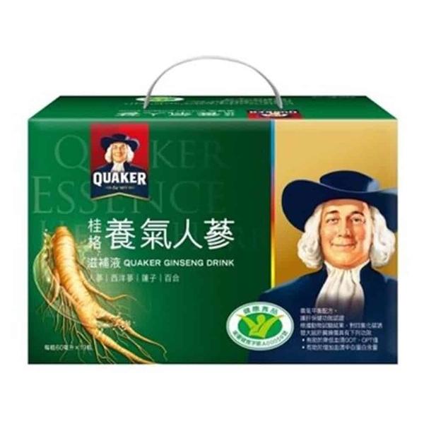 桂格 養氣人蔘滋補液 60ml*19瓶/盒◆德瑞健康家◆