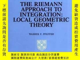 二手書博民逛書店【罕見】The Riemann Approach to Integration: Local Geometric