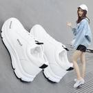 運動鞋 運動鞋女2019新款春季韓版原宿ulzzang百搭休閒跑步鞋學生小白鞋 探索