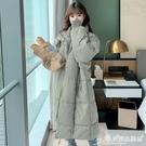 棉服 中長款羽絨棉衣棉服女韓版寬鬆冬季外套冬裝棉襖2021年新款女加厚 愛麗絲