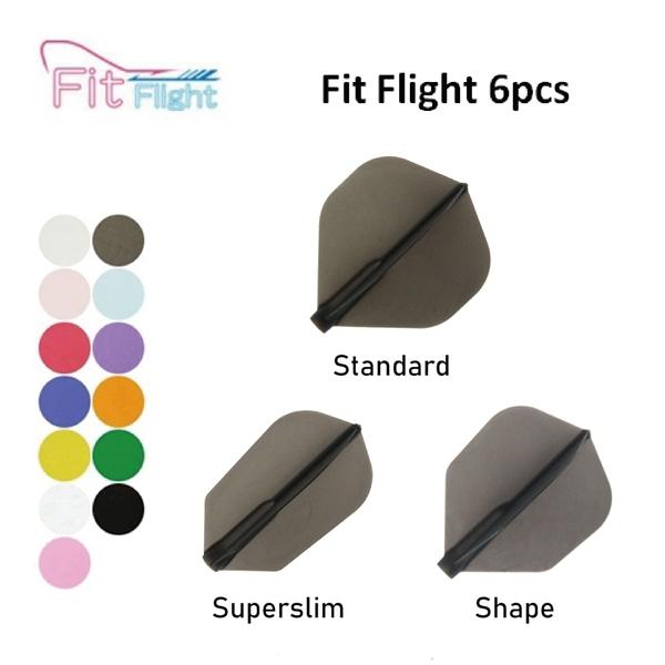 【Fit Flight AIR】F Shape/Kite/W Shape 素色 鏢翼 DARTS