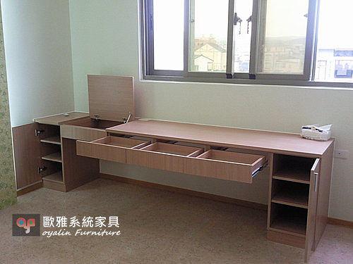 【系統家具】溫和大地木色 衣櫃 床頭矮櫃 高收納櫃 上掀式化妝台
