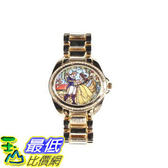 [103美國直購] 手錶 Disney Beauty And The Beast Stained Glass Watch $2187