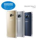 SAMSUNG Galaxy Note 5 原廠鏡面薄型背蓋 黑/銀[免運]
