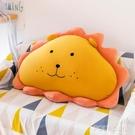 可愛獅子床頭靠墊靠枕超軟包大號靠背枕榻榻米臥室網紅沙發抱枕 ATF polygirl