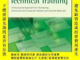 二手書博民逛書店Developing罕見Technical Training: A Structured Approach for