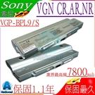 SONY 電池(九芯最高規)-索尼 電池-VGP-BPL9,VGP-BPL10,VGP-BPS9A/S,VGN-AR48 VGN-CR23,VGN-NR220,VGP-BPS9/S,BPS10