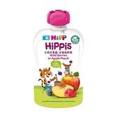 HiPP 喜寶 生機水果趣-水蜜桃野莓100g[衛立兒生活館]
