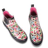夏季雨鞋女短筒雨靴女中筒女士水鞋學生膠鞋套鞋防滑韓國成人