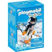 摩比積木 playmobil 滑雪系列 滑雪員