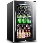 紅酒櫃 Fasato/凡薩帝 JC-70冰吧家用小型客廳透明玻璃冰箱冷藏茶葉櫃 莎拉嘿呦