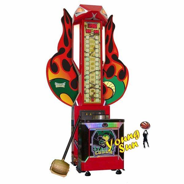 街頭蛇王 大槌王  大型電玩販售、寄檯規劃、活動租賃 陽昇國際 夾娃娃機 籃球機