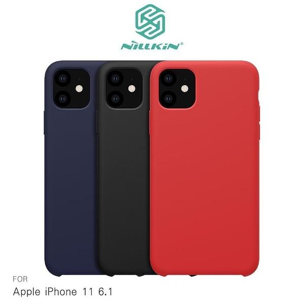 NILLKIN Apple iPhone 11 (6.1吋) 感系列液態矽膠殼 背殼 鏡頭增高