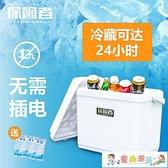 車載冰箱 保溫箱戶外便攜手提冷藏箱車載移動冰箱保鮮箱冰袋保冷袋擺攤冰桶 童趣