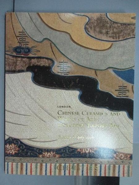 【書寶二手書T7/收藏_PND】Christie s_Chinese Ceramics and…2006/7/11