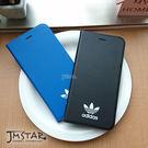 iPhone 8/7 Plus 手機殼 adidas 愛迪達  側翻式 5.5吋 硬殼 皮套-黑色 / 藍色