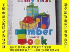 二手書博民逛書店My罕見First Number Board Book (My
