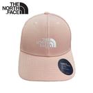 【The North Face 棒球帽《粉紅》】4VSV/水洗棉透氣運動帽/鴨舌帽/遮陽帽/卡車帽