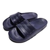 adidas 拖鞋 Duramo Slide 深藍 藍 三條線 海灘拖 一片拖 運動拖鞋 男鞋 女鞋【ACS】 BB0498