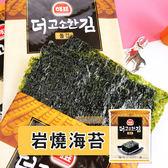 韓國 SAJO 思潮 大片岩燒海苔 (單包)  2.5g  [海苔 飯捲 飯糰 零食 美食] [LOVEME樂米]