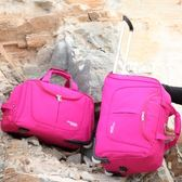 全館免運八折促銷-拉桿包女大容量行李包手提袋待產包男女通用折疊旅行包防水儲物包jy