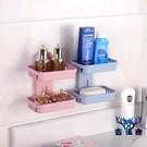 【四個裝】肥皂架免打孔肥皂盒衛生間瀝水創意壁掛【古怪舍】