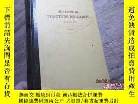 二手書博民逛書店advances罕見in fracture research v
