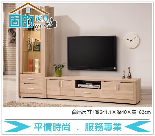 《固的家具GOOD》333-3-AA 京城橡木8尺L型櫃【雙北市含搬運組裝】
