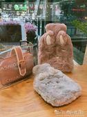 熱水袋注水防爆透明毛絨萌萌可愛大小灌水暖水袋可拆洗禮物暖手寶 晴天時尚館