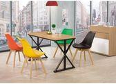 【新北大】✪ C855-3奧爵4尺木面餐桌(不含餐椅)-18購