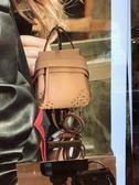 ■ 專櫃53折☆Tod's 小款 Small Wave 新款 後背/斜肩/手提三用包 CLAY 陶土色