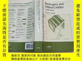 二手書博民逛書店Bankruptcy罕見and Debtor Creditor(