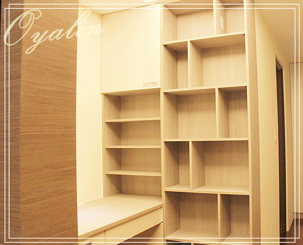 【歐雅系統家具】系統櫃 系統書櫃 系統展示櫃 EGGER E1-V313防潮塑合板 客製化訂做