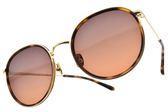 NINE ACCORD太陽眼鏡 KISSING AMY C3 (琥珀金-漸層紫紅鏡片) 率性圓框款 墨鏡 # 金橘眼鏡