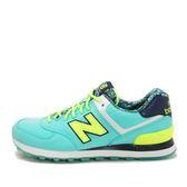 New Balance WL574 [WL574ILA] 女鞋 休閒 經典 運動 水藍 黃 總統