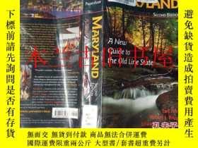 二手書博民逛書店英文外文原版罕見Maryland A New Guide to