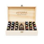 精油盒 精油收納木盒25格 收納盒子 24 1格精油展示盒 美樂家 暖心生活館