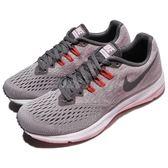 Nike 慢跑鞋 Wmns Zoom Winflo 4 粉紅 灰 輕量透氣 運動鞋 氣墊 女鞋【PUMP306】 898485-010
