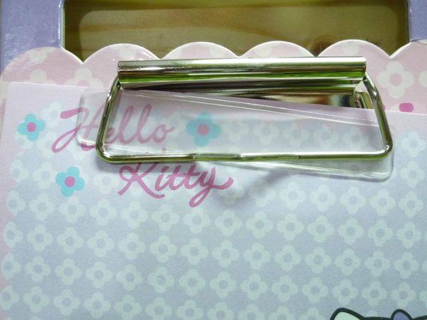 【震撼精品百貨】Hello Kitty 凱蒂貓~夾板附便條紙-紫色【共1款】