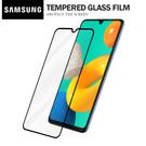 三星 M32 (4G) 彩色滿版全屏鋼化玻璃膜 全覆蓋鋼化膜 螢幕保護貼 防刮防爆