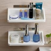 浴室置物架吸盤衛生間置物架免打孔廁所架子浴室收納架洗手間浴室用品置物架xw