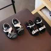 【新年鉅惠】2019新款小童男童涼鞋兒童沙灘鞋防滑軟底鞋